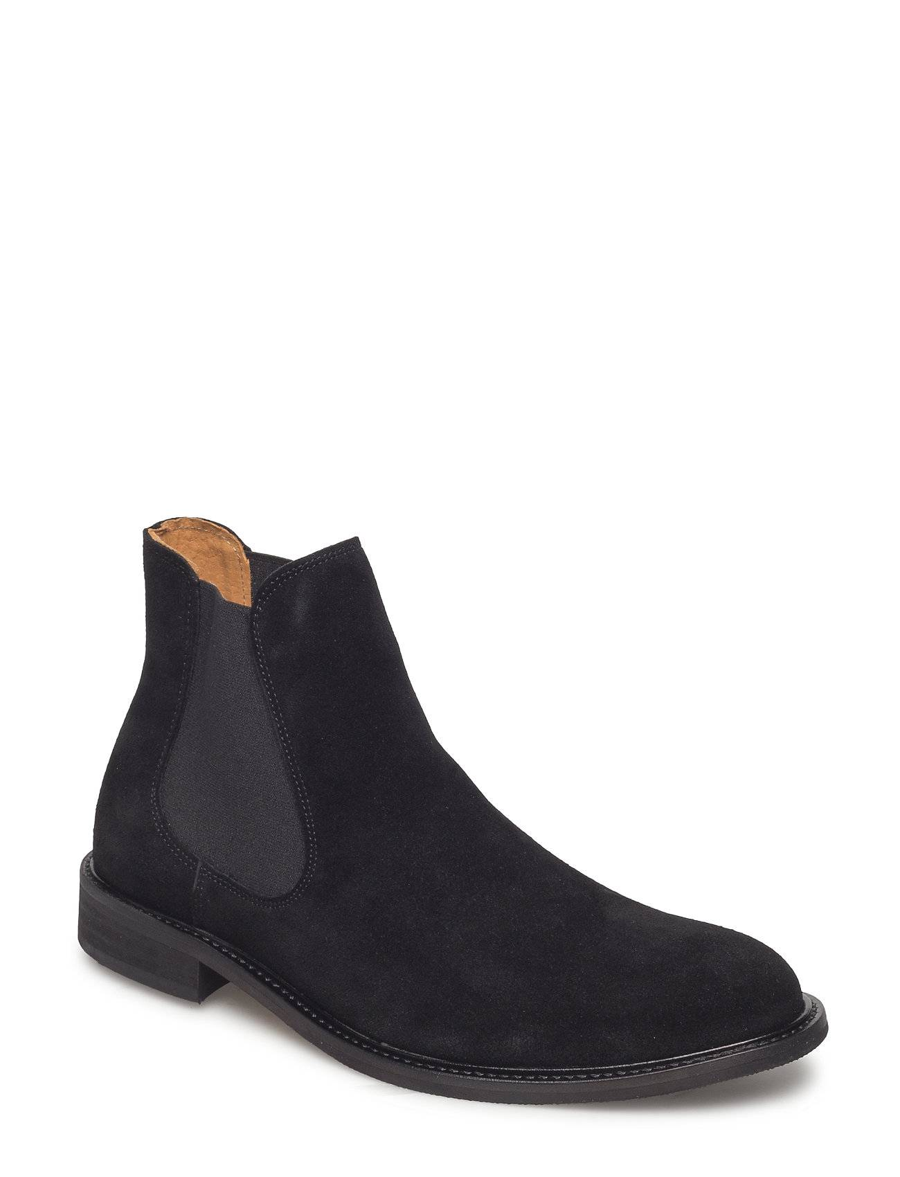 Selected Homme Slhbaxter Chelsea Suede Boot B Noos