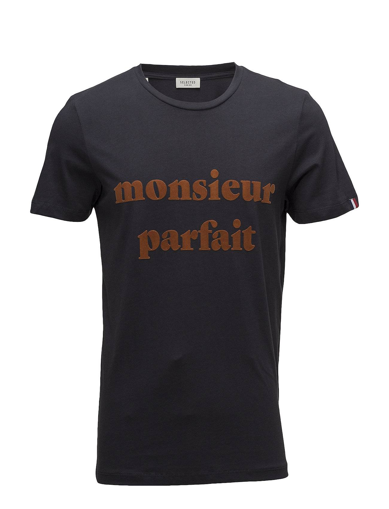 Selected Homme Slhlyon Ss O-Neck Tee W Ex