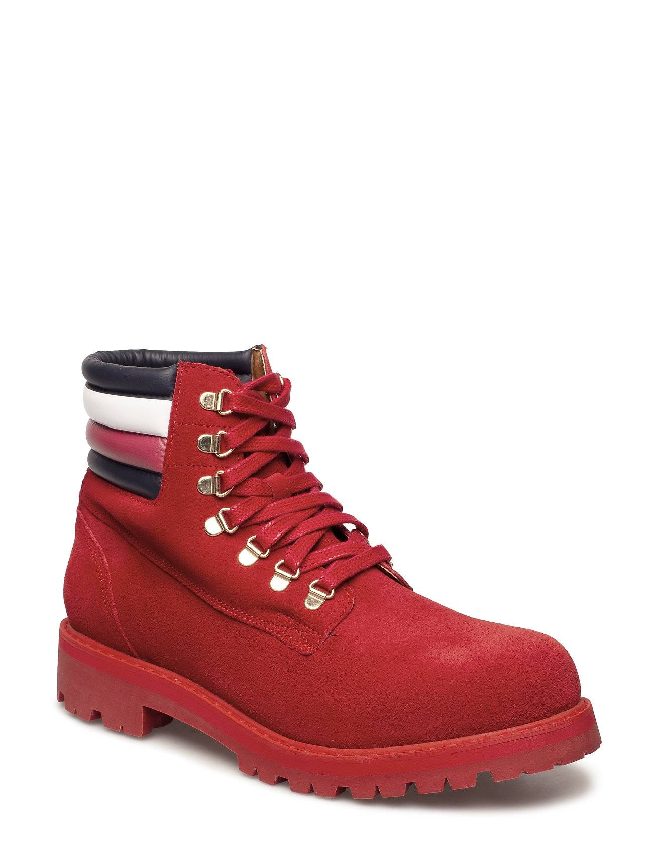 Tommy Hilfiger Lewis Hamilton Suede Hiking Boot