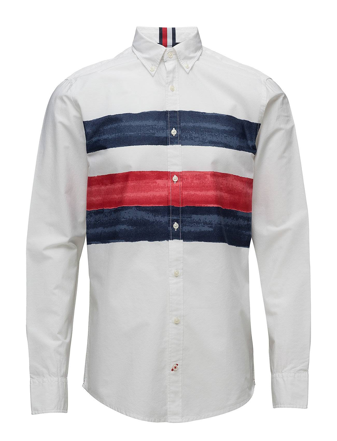 Tommy Hilfiger Global Watercolor Striped Shirt