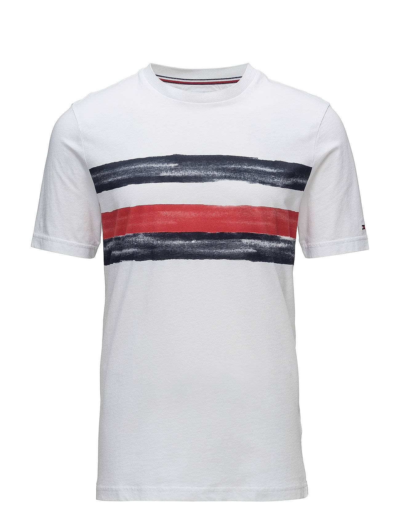 Tommy Hilfiger Global Stripe Fashion Fit Tee