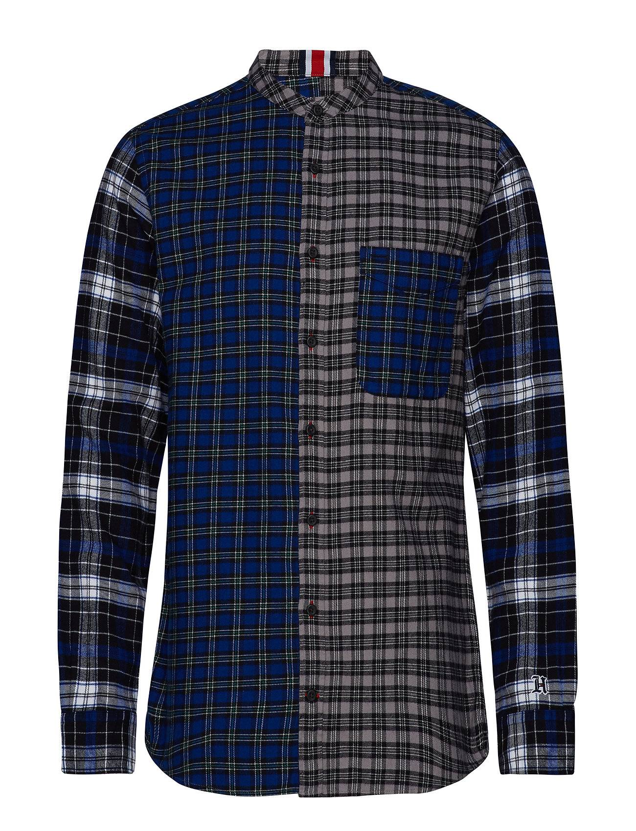 Tommy Hilfiger Lewis Hamilton Check Mao Shirt