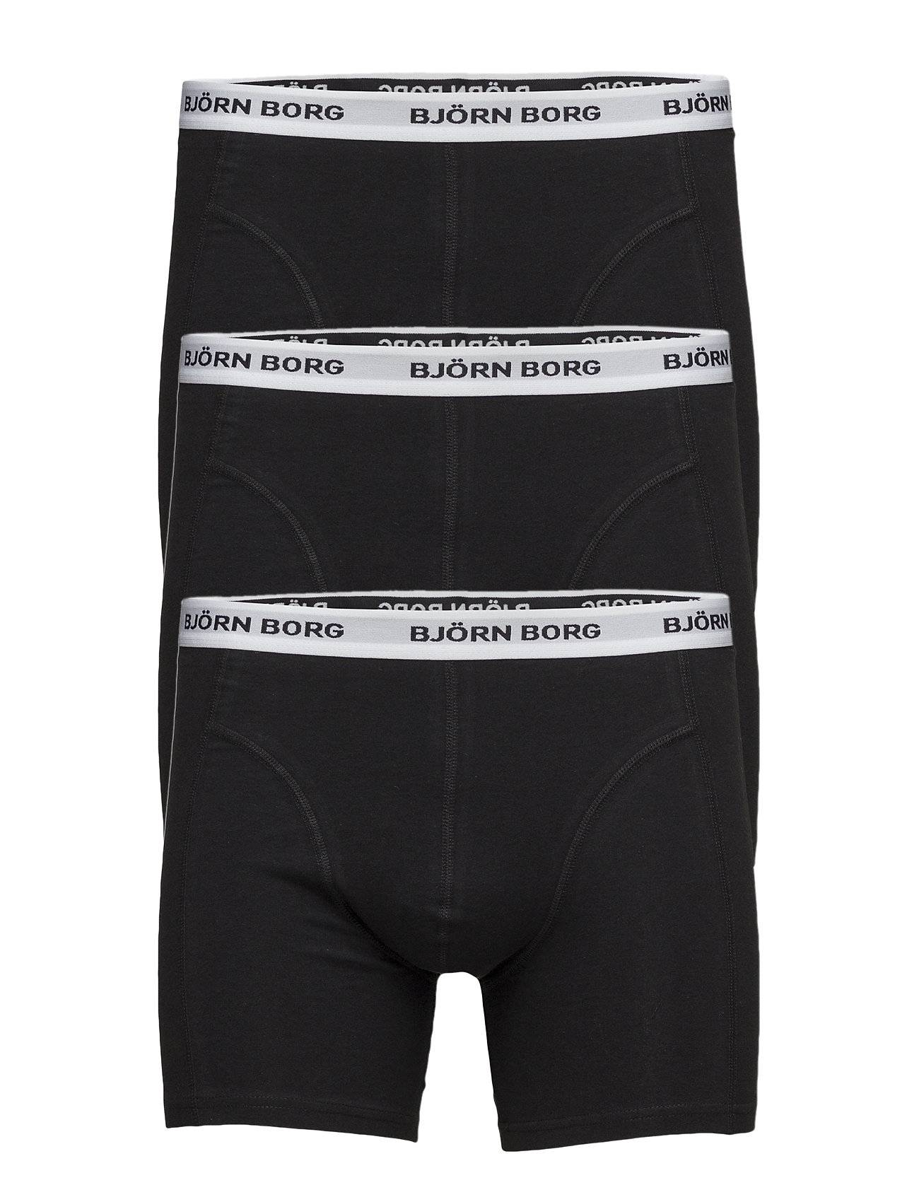 Björn Borg Shorts Noos Contrast Solids 3p