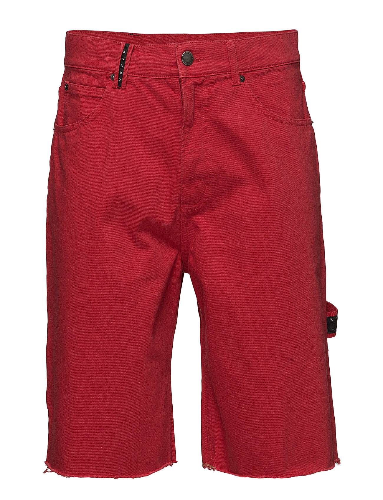 Cheap Monday Cred Shorts Od Red