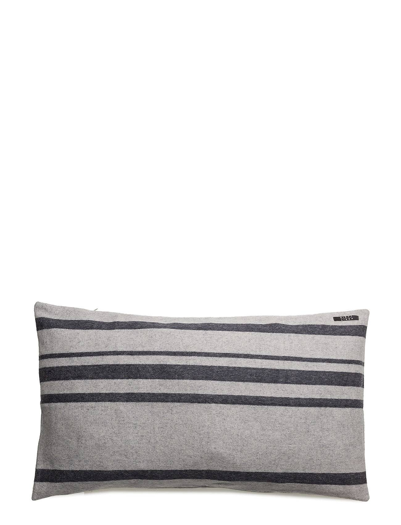 Dirty Linen Strip Decorative Cushion Cover