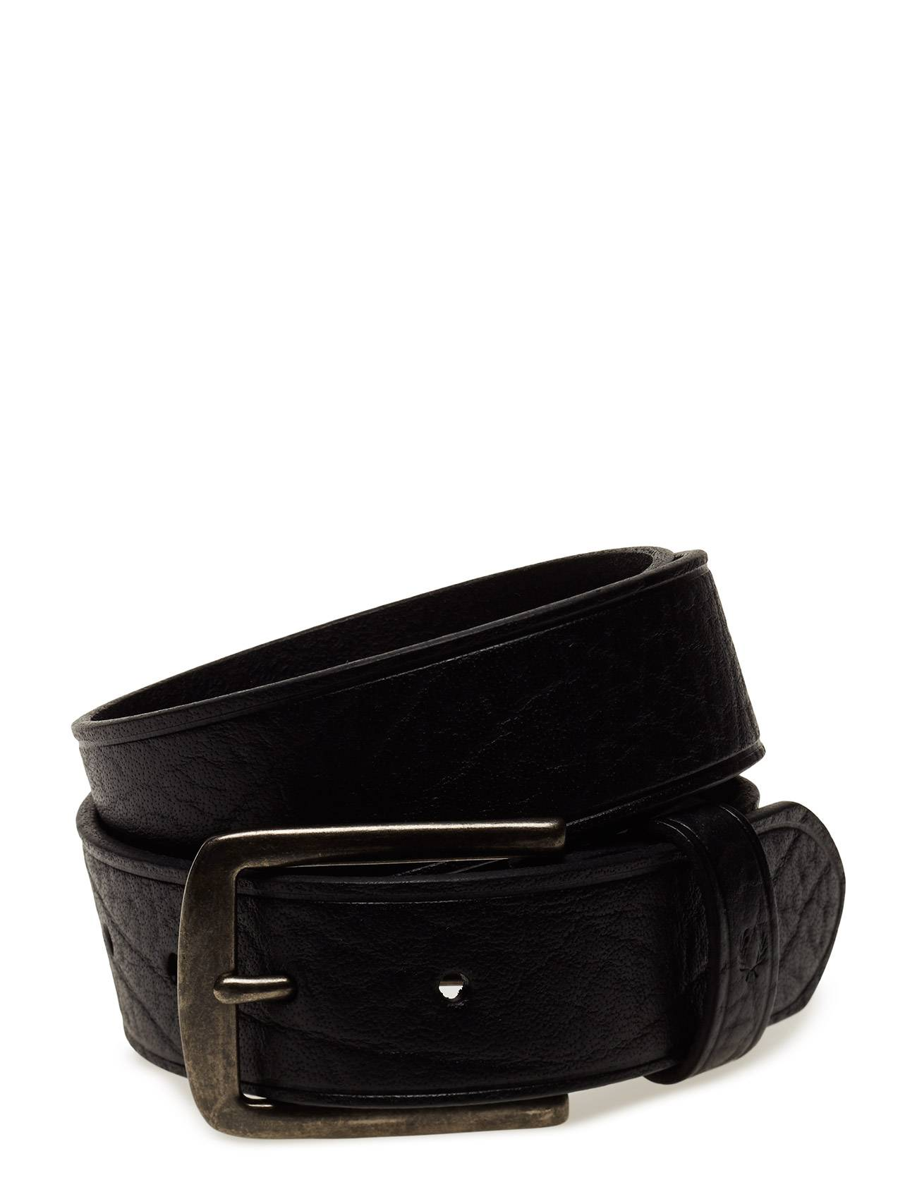 Fred Perry Tumbled Leather Belt