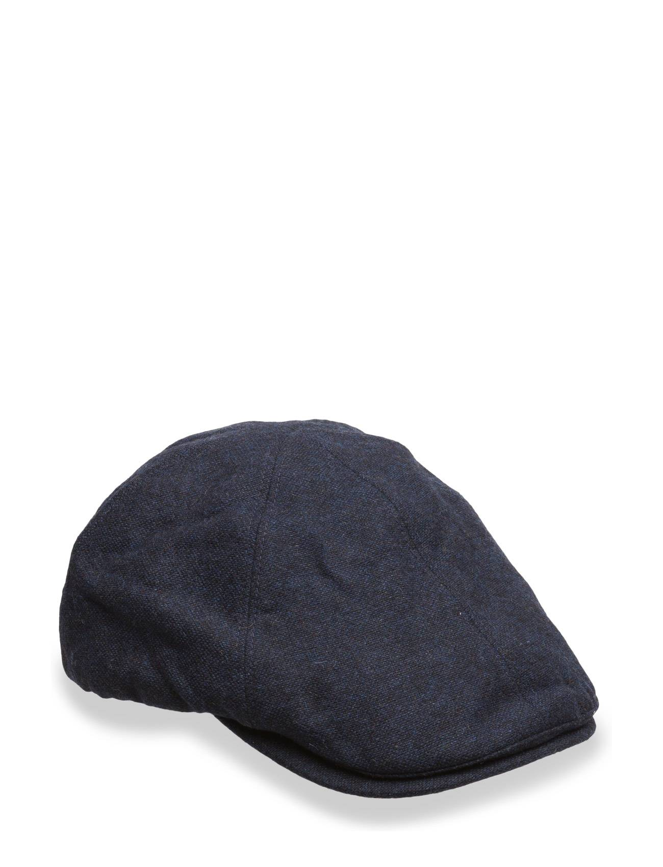 Fred Perry Boiled Wool Flat Cap