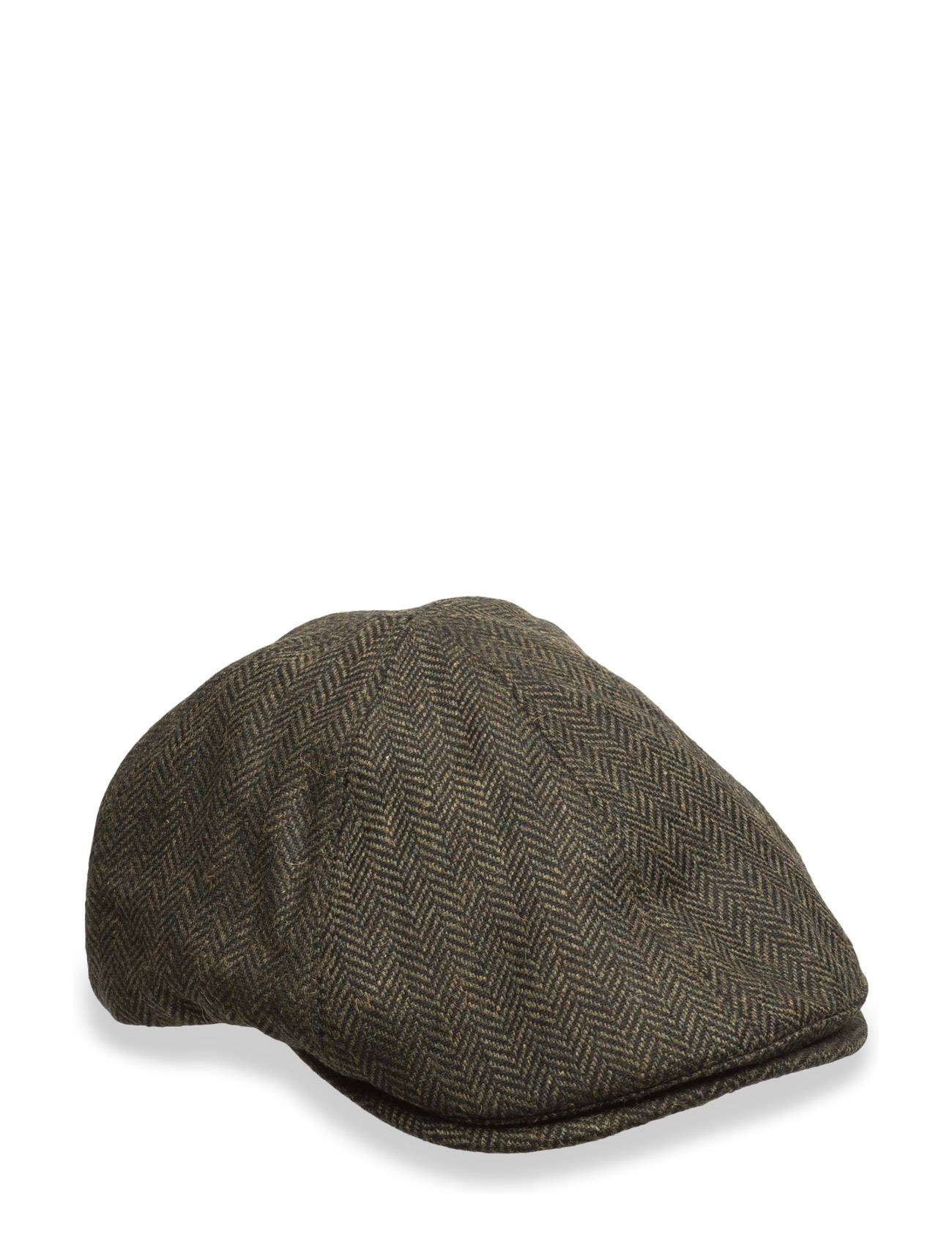 Fred Perry Herringbone Flat Cap