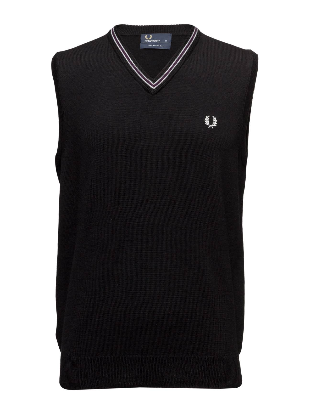 Fred Perry Tipped Merino Tank