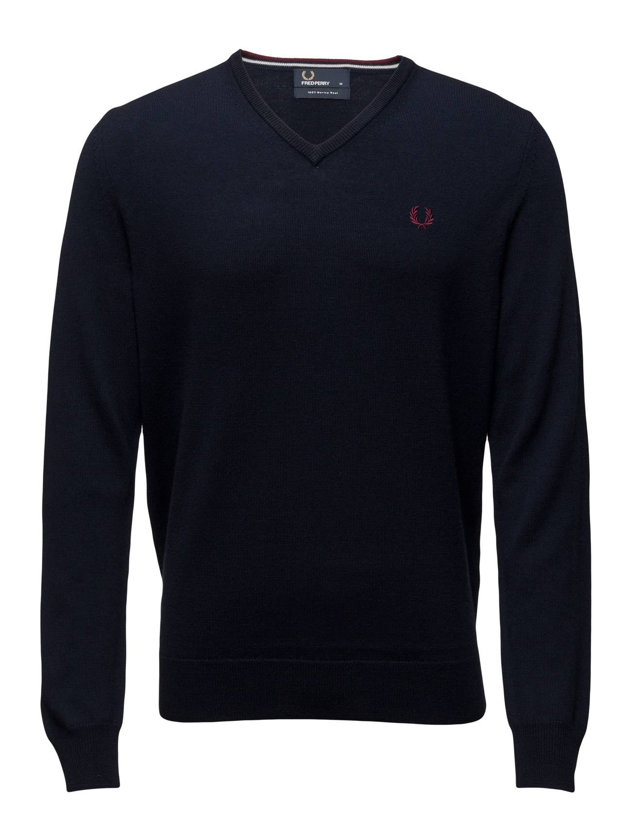 Fred Perry Classic V Neck Sweater