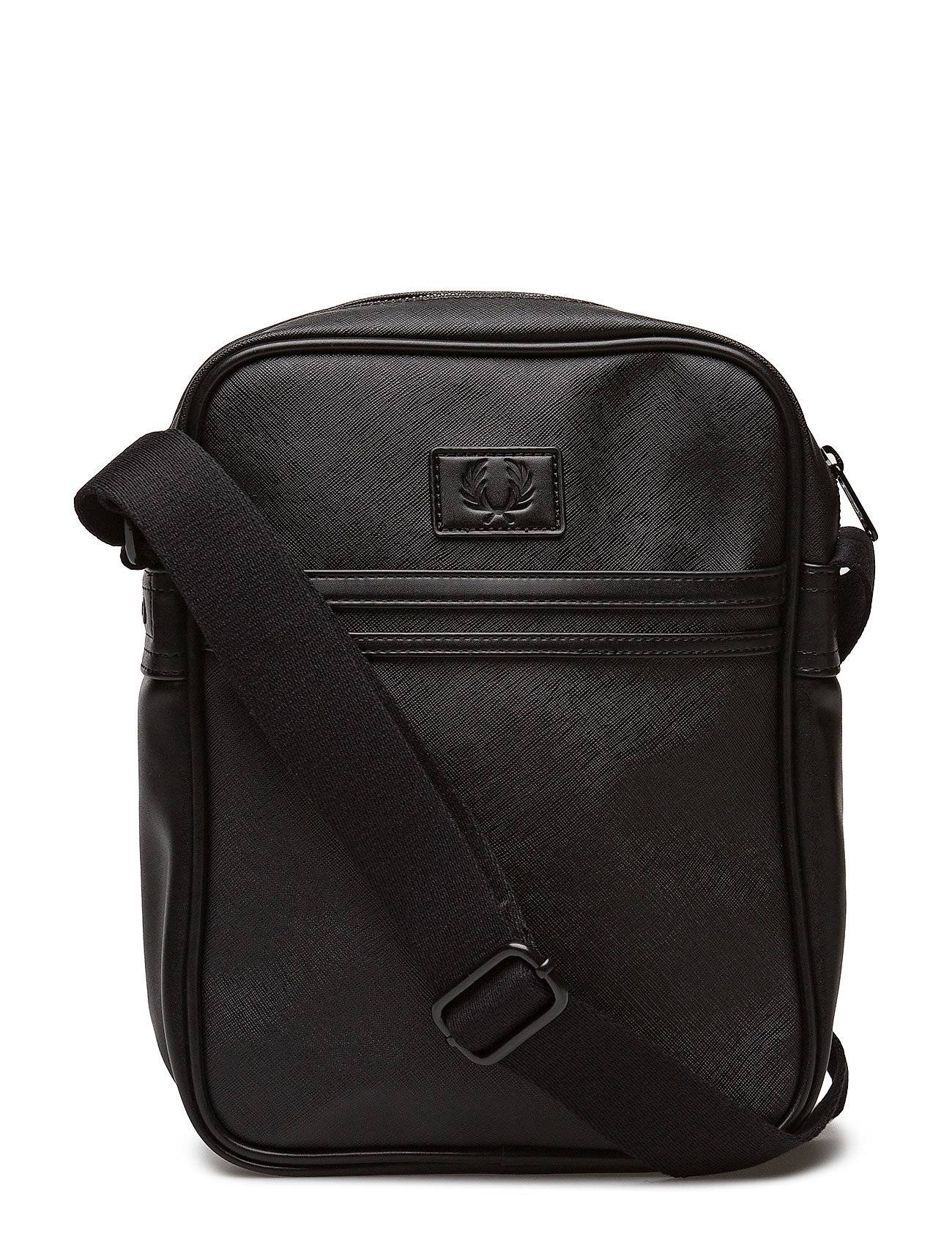 Fred Perry Saffiano Side Bag