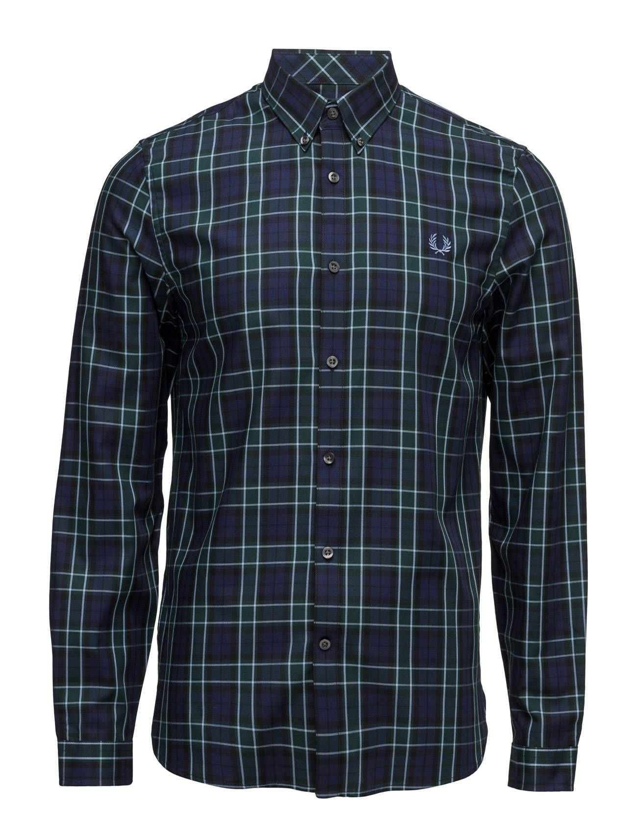 Fred Perry Enlarged Tartan Shirt