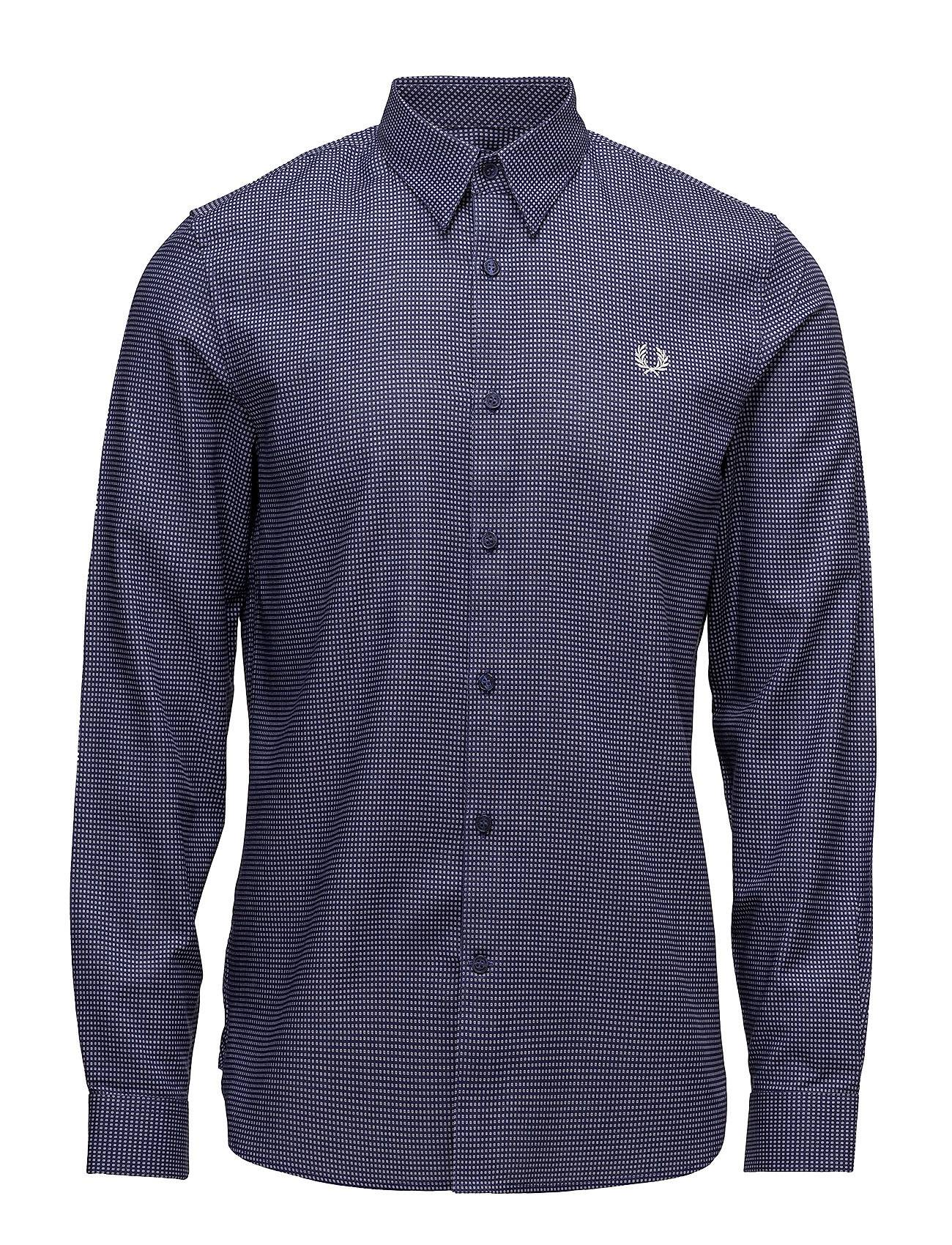 Fred Perry Micro Square Shirt