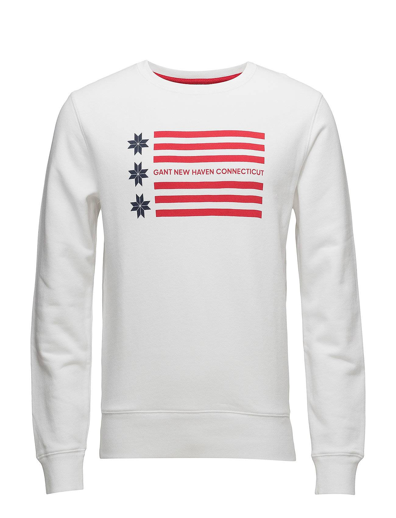 GANT Op1. American Flag C-Neck Sweat