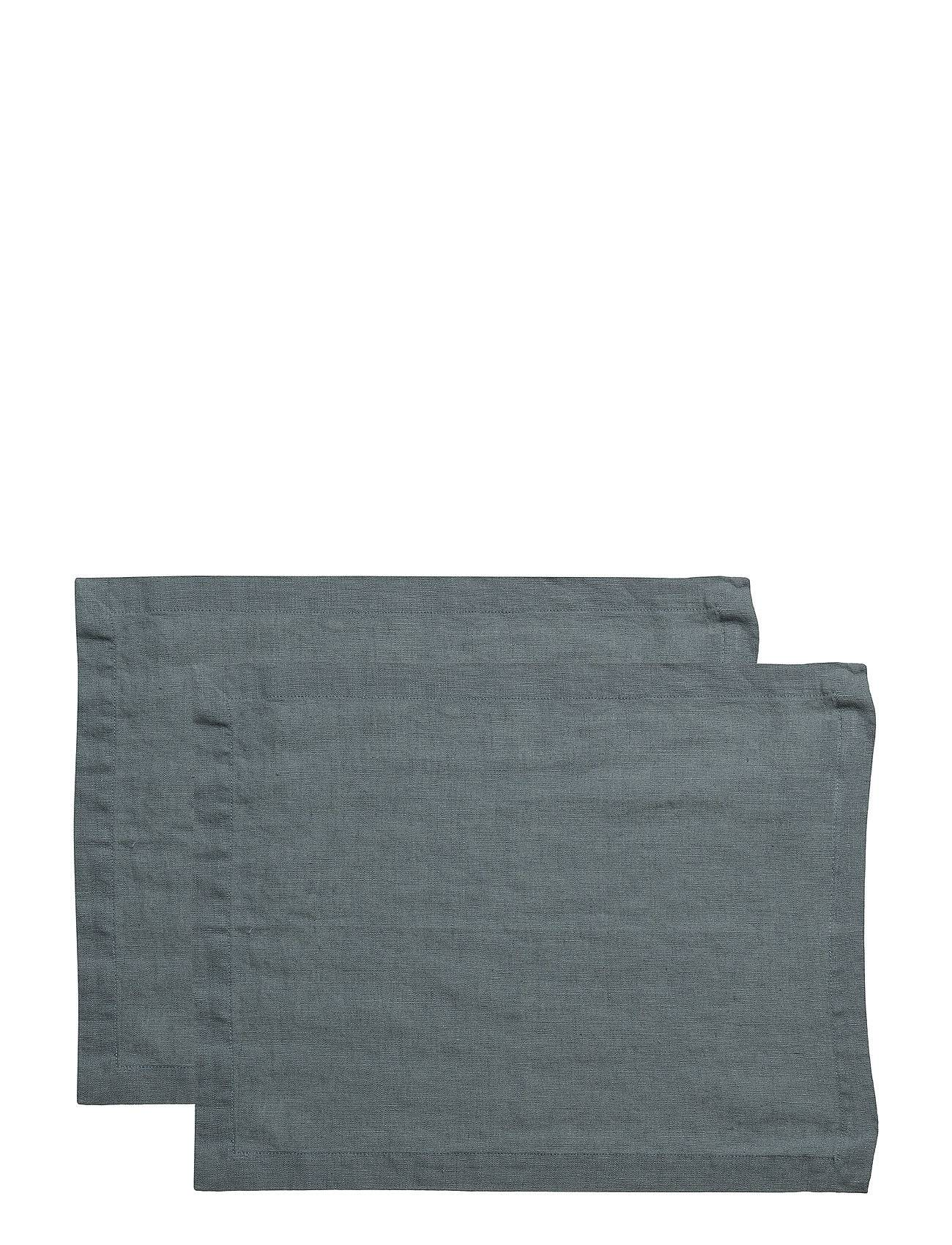 Gripsholm Placemat Washed Linnen 2-Pack