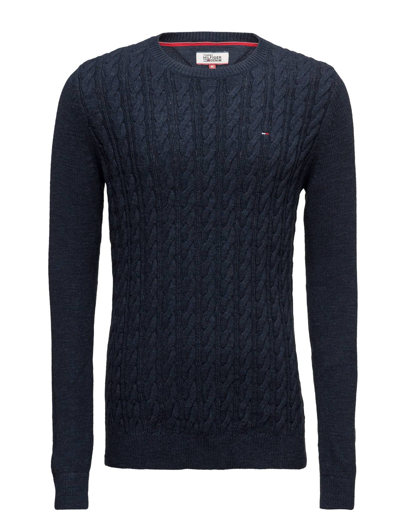 Tommy Jeans Thdm Basic Cable Cn Sweater 28