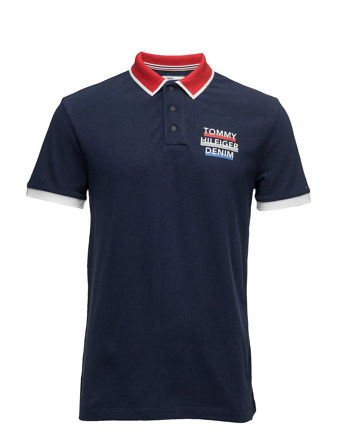 Tommy Jeans Thdm Basic Rlx Bdg Polo S/S 15