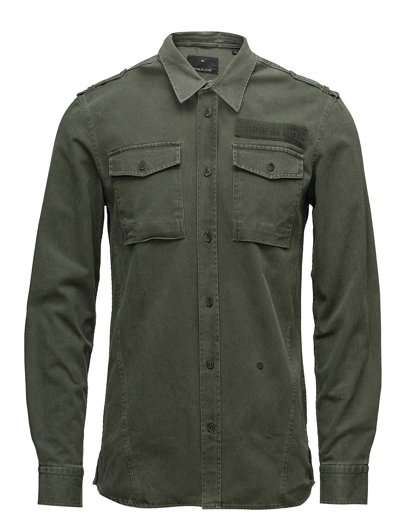 JUNK de LUXE Washed Military Shirt