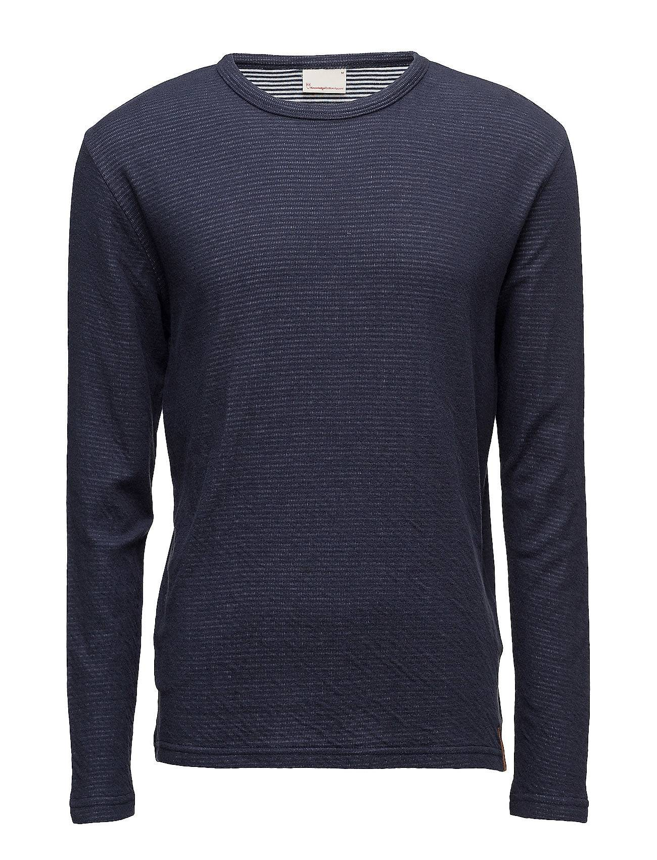 Knowledge Cotton Apparel Double Layer Long Sleeve T-Shirt -