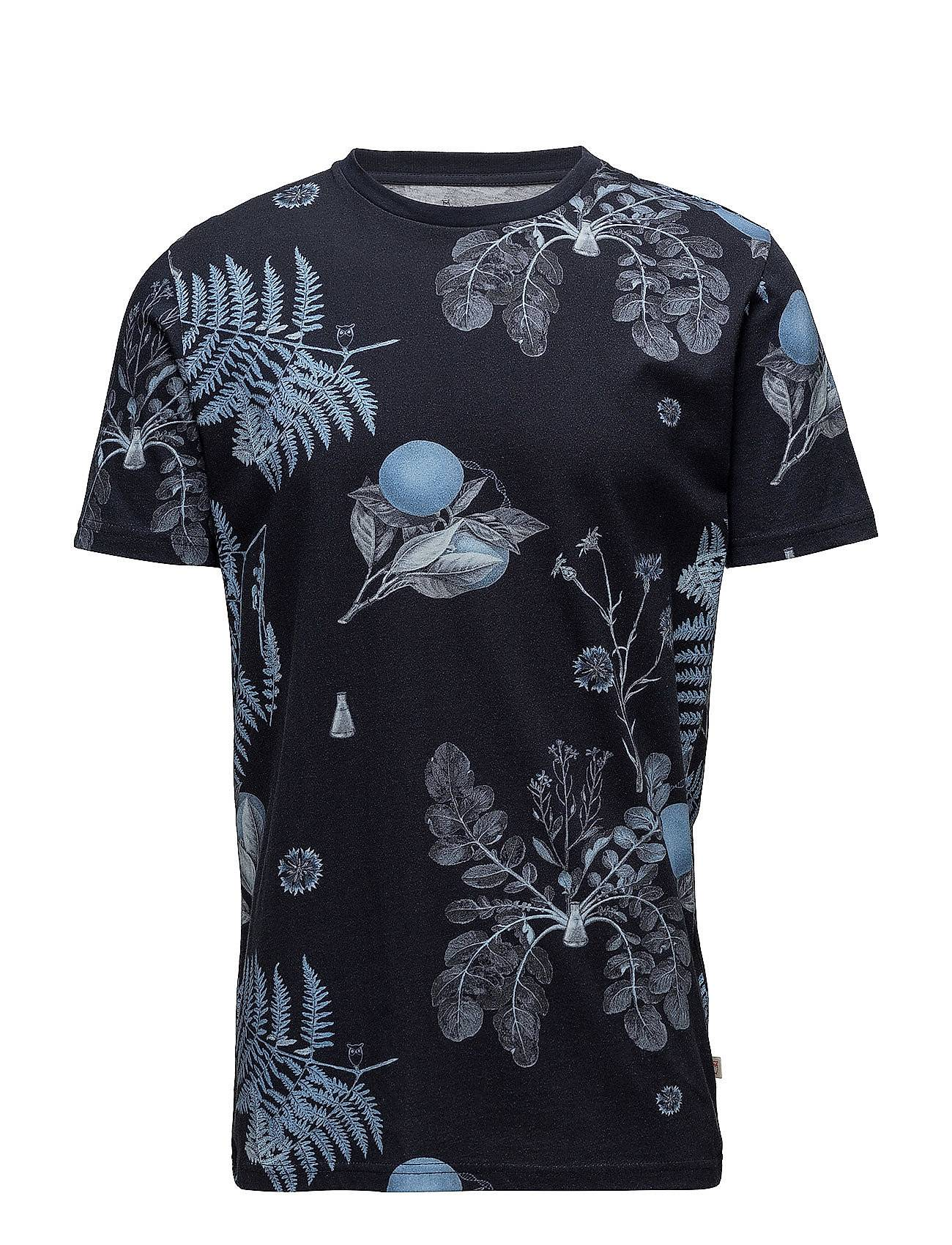 Knowledge Cotton Apparel T-Shirt With All Over Print - Gots