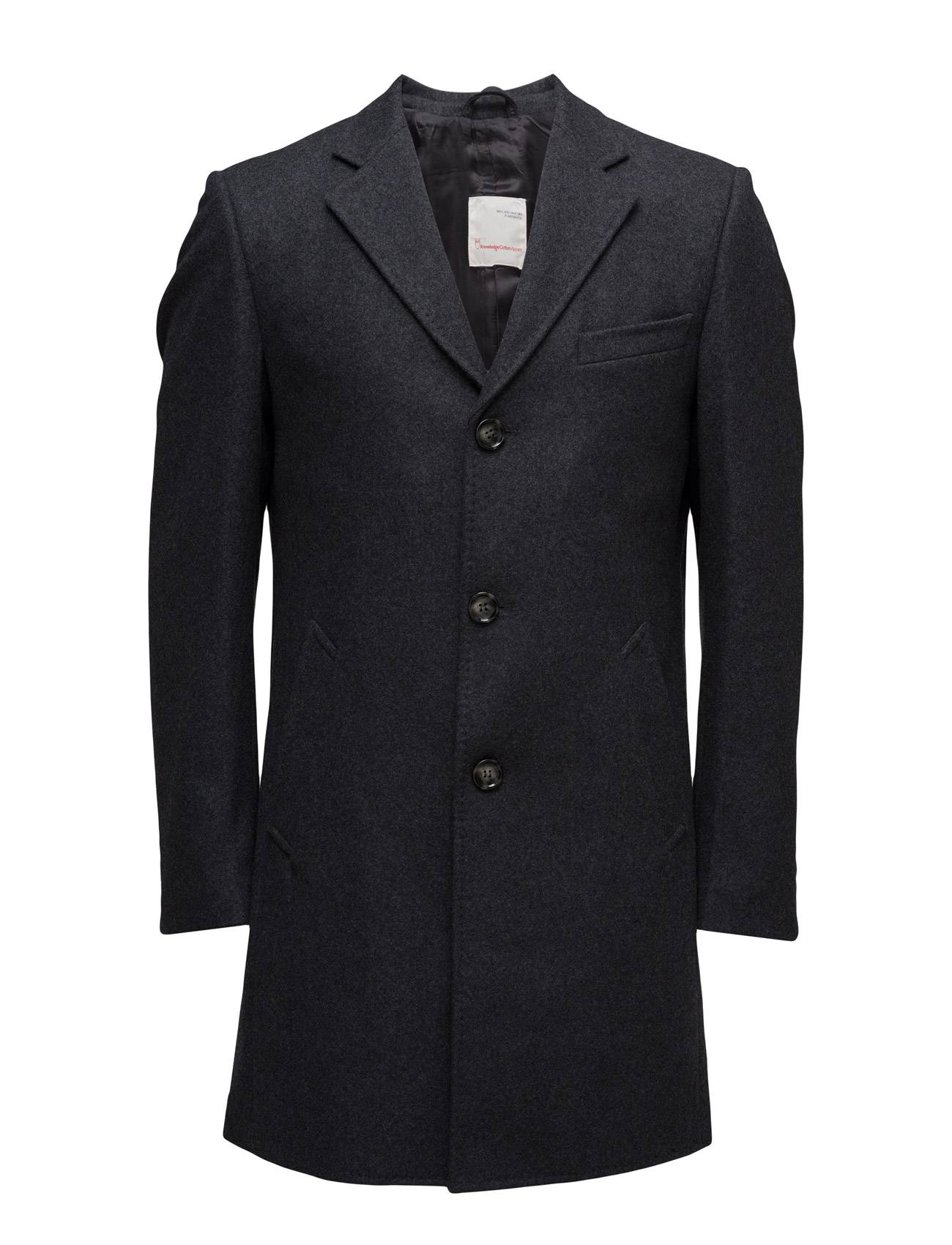Knowledge Cotton Apparel Wool Coat