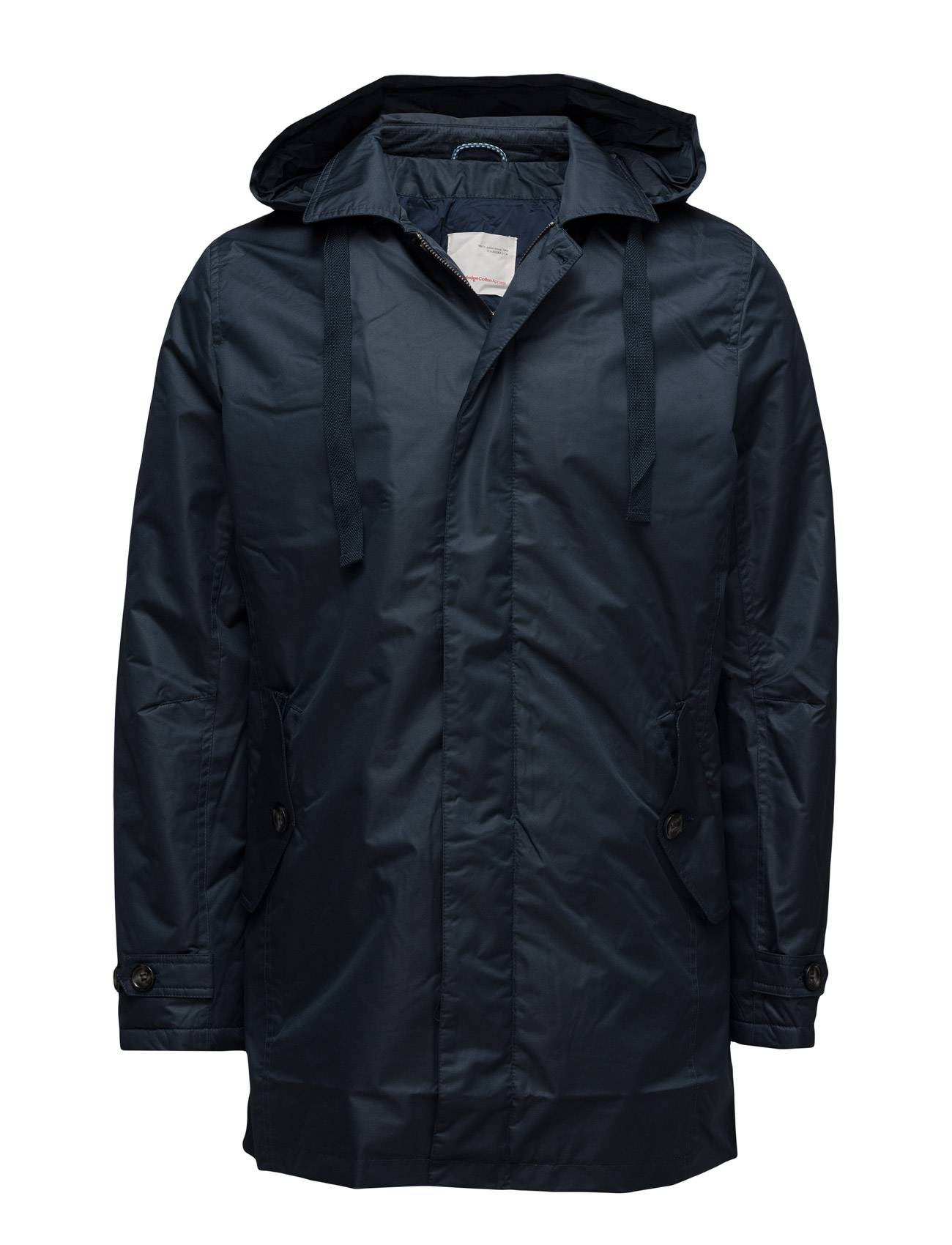 Knowledge Cotton Apparel Funtional Parca W/Quilted Lining