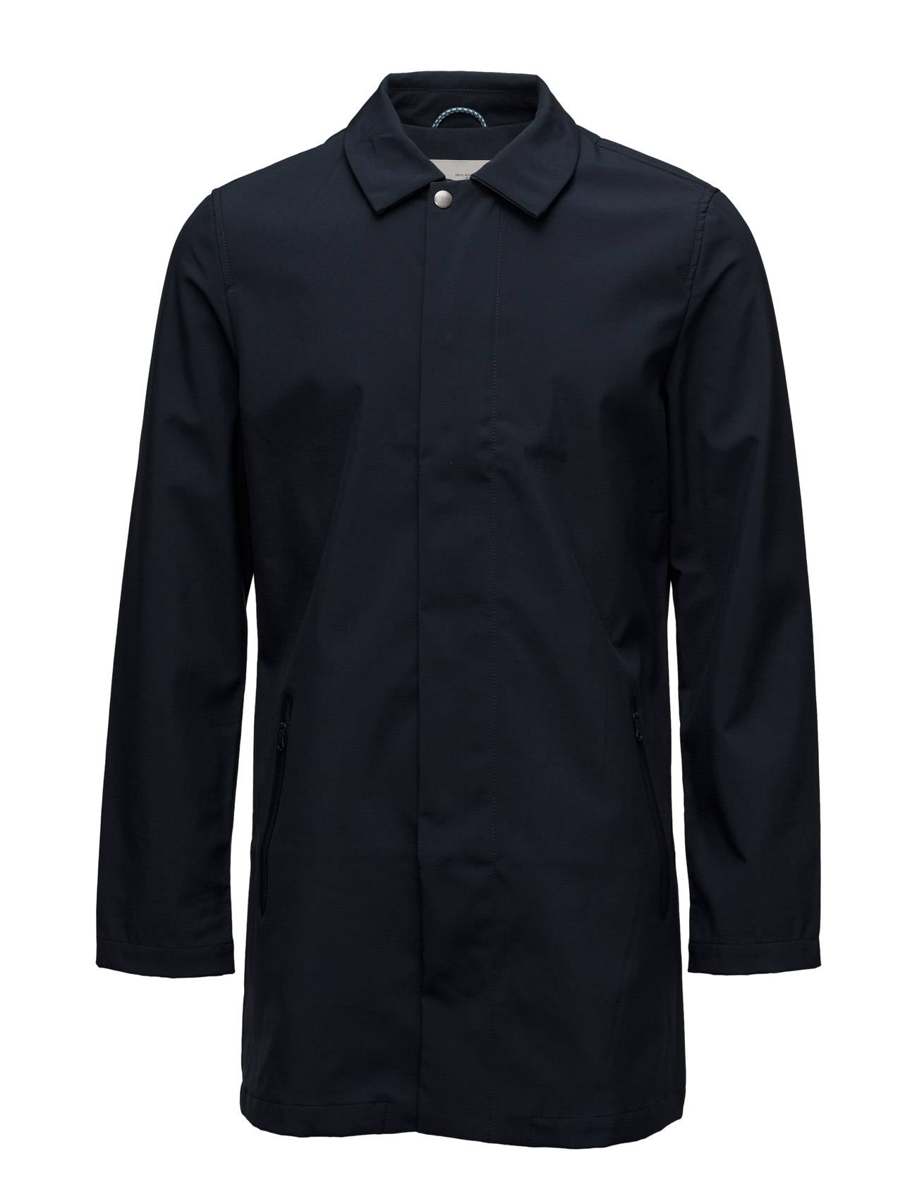 Knowledge Cotton Apparel Soft Shell Car Coat - Grs