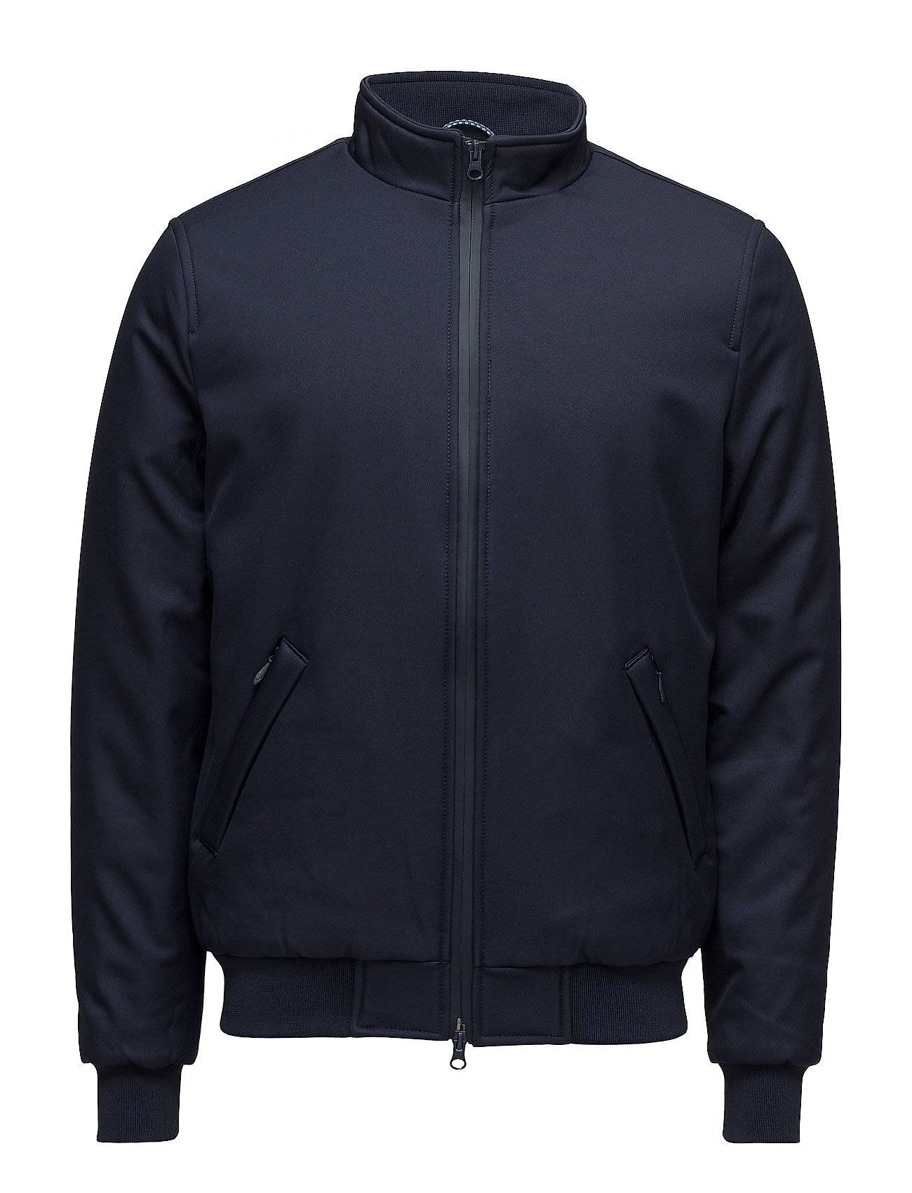 Knowledge Cotton Apparel Soft Shell Bomber Jacket - Grs