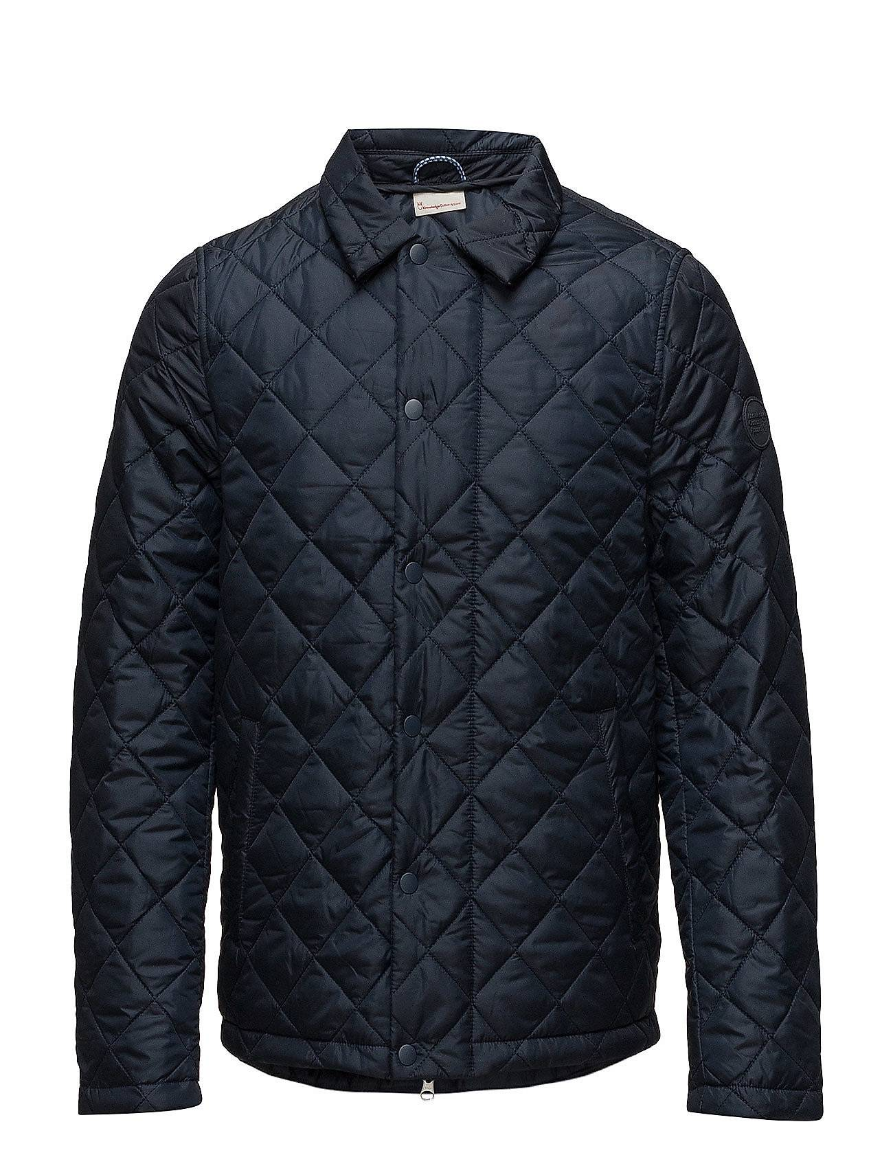 Knowledge Cotton Apparel Quilted Jacket - Grs