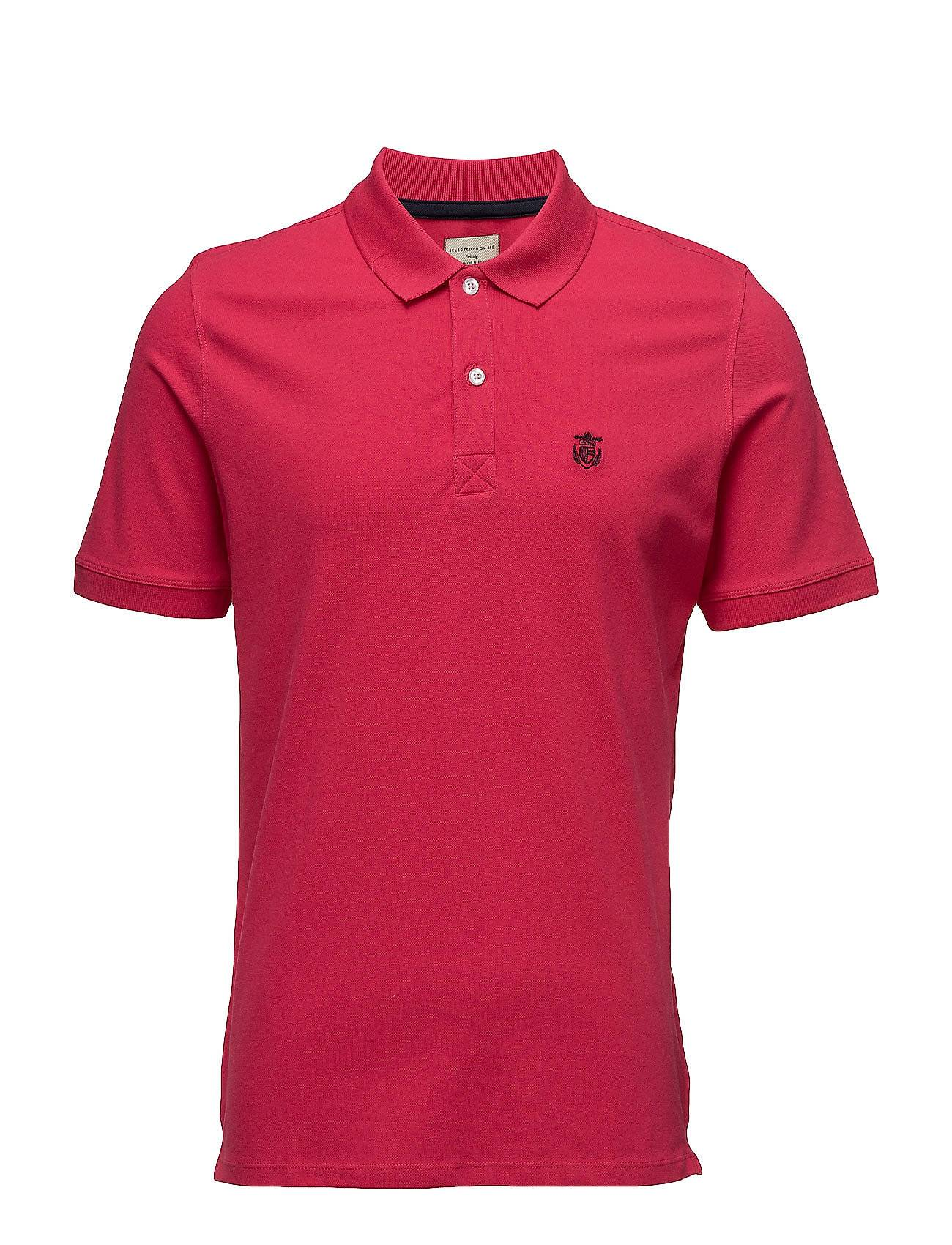 Selected Homme Shdaro Ss Embroidery Polo Noos