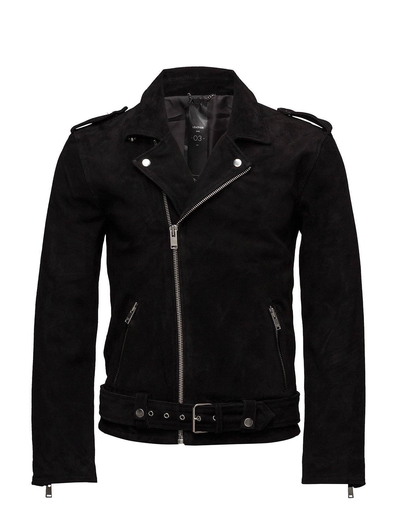 Selected Homme Shnsaint Suede Biker Jacket