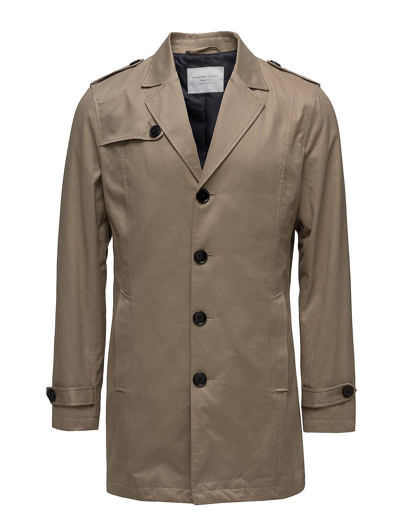 Selected Homme Shdnewadams Trench Coat Ge