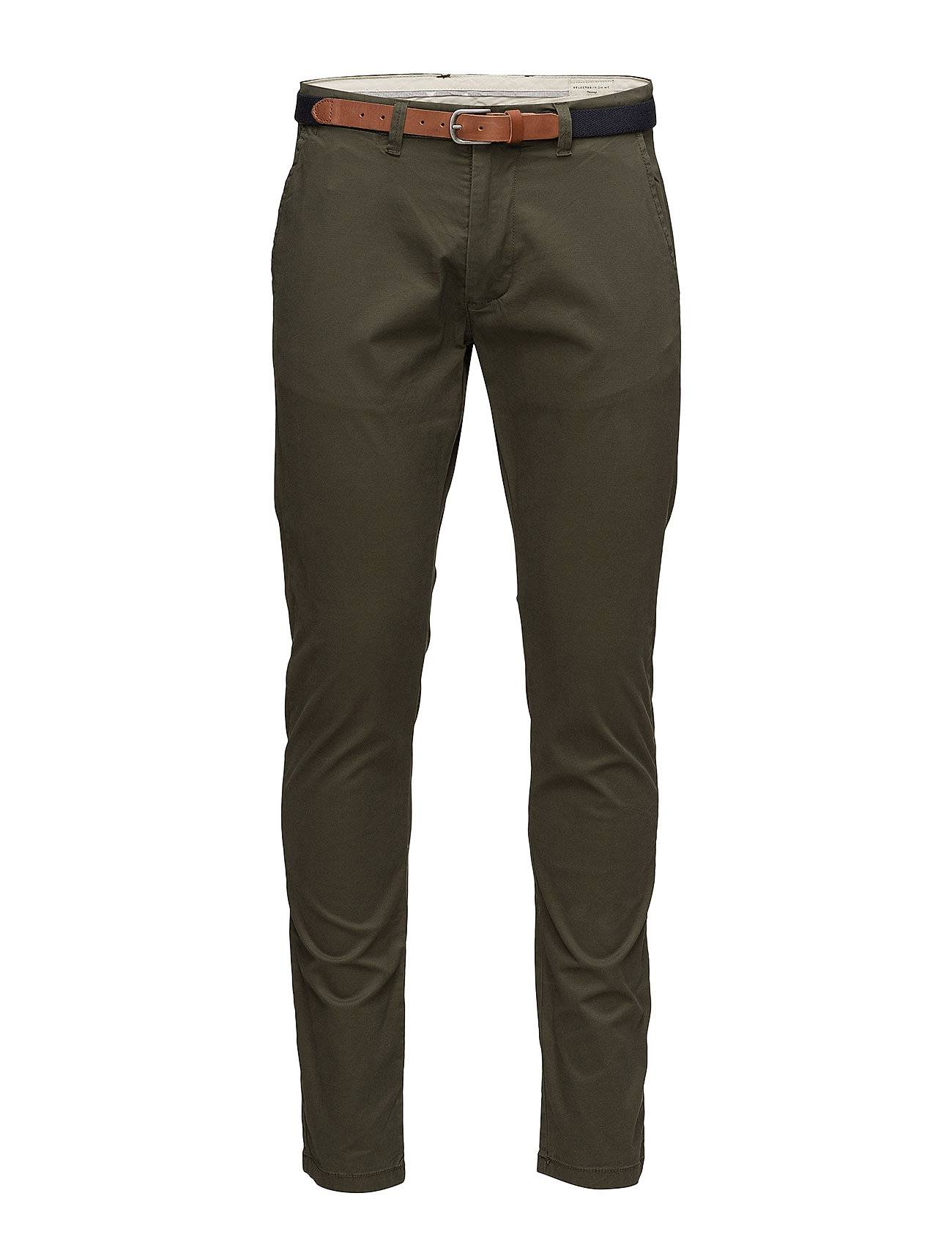 Selected Homme Shhyard Forest Night Slim St Pants Noos