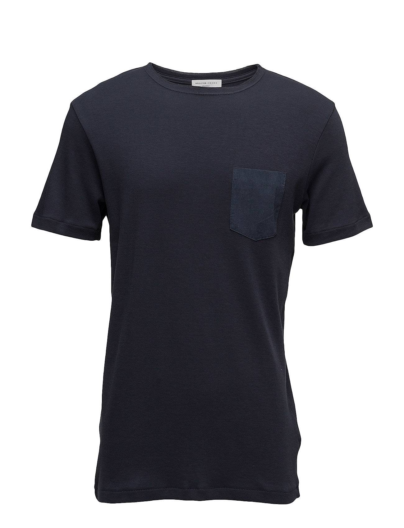 Selected Homme Shdfin Pocket Ss O-Neck Tee