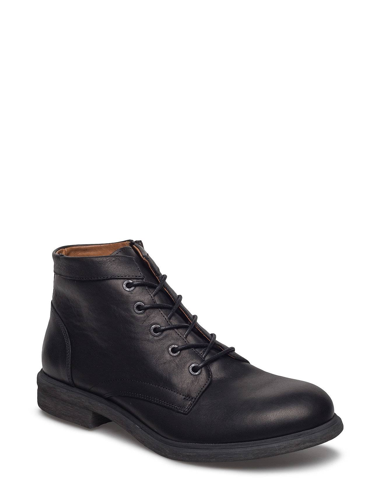 Selected Homme Shntrevor Leather Boot Sts