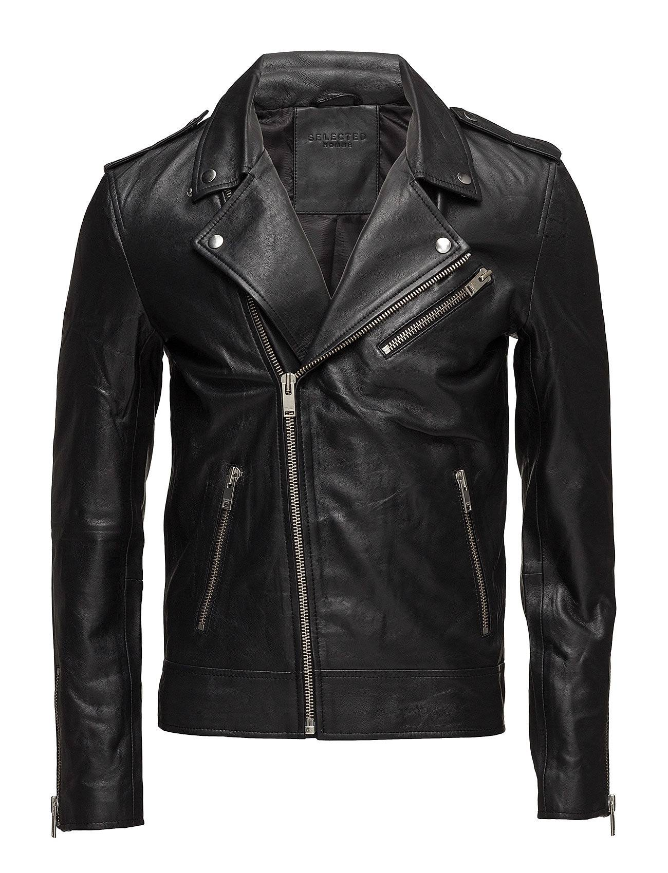Selected Homme Shnlean Biker Jacket