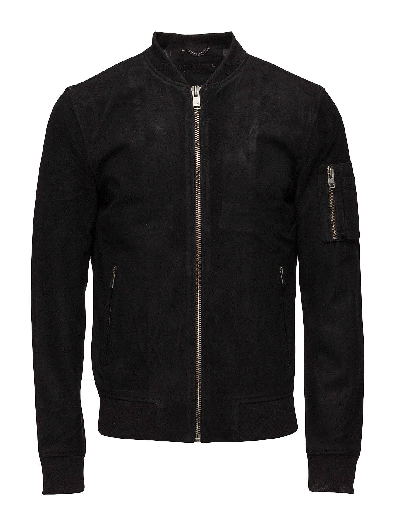 Selected Homme Shnmick Suede Bomber Sts