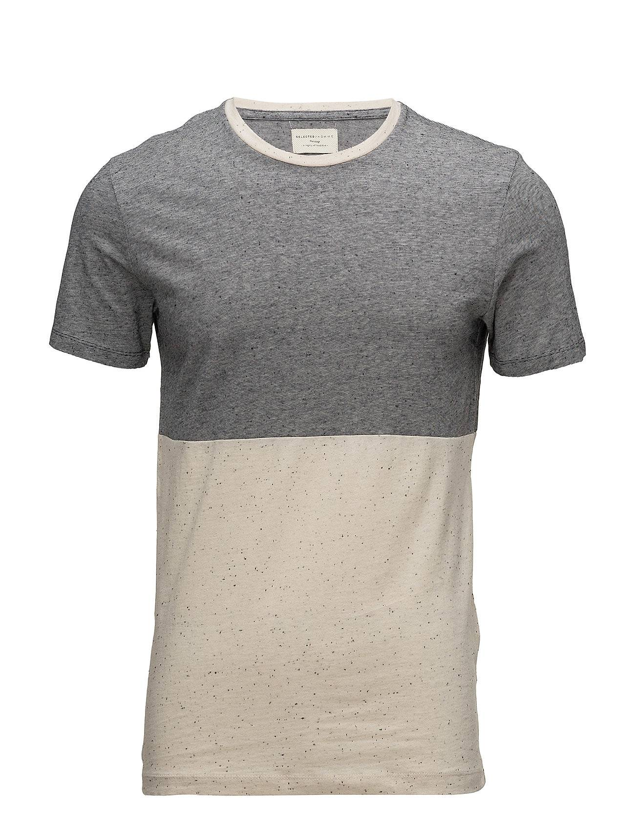 Selected Homme Shhtim Color Block Ss O-Neck Tee