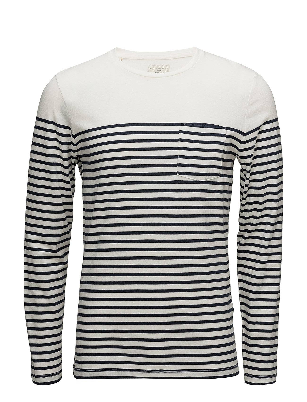 Selected Homme Shhtheo Ls O-Neck Tee