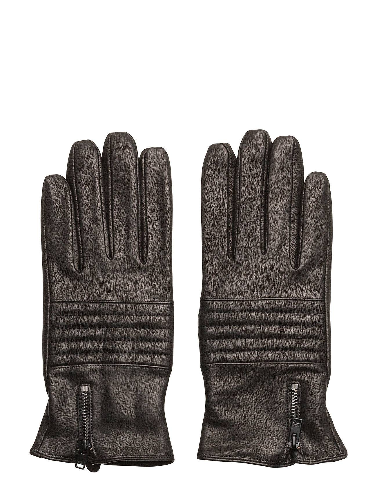 Selected Homme Shdnew Biker Leather Glove