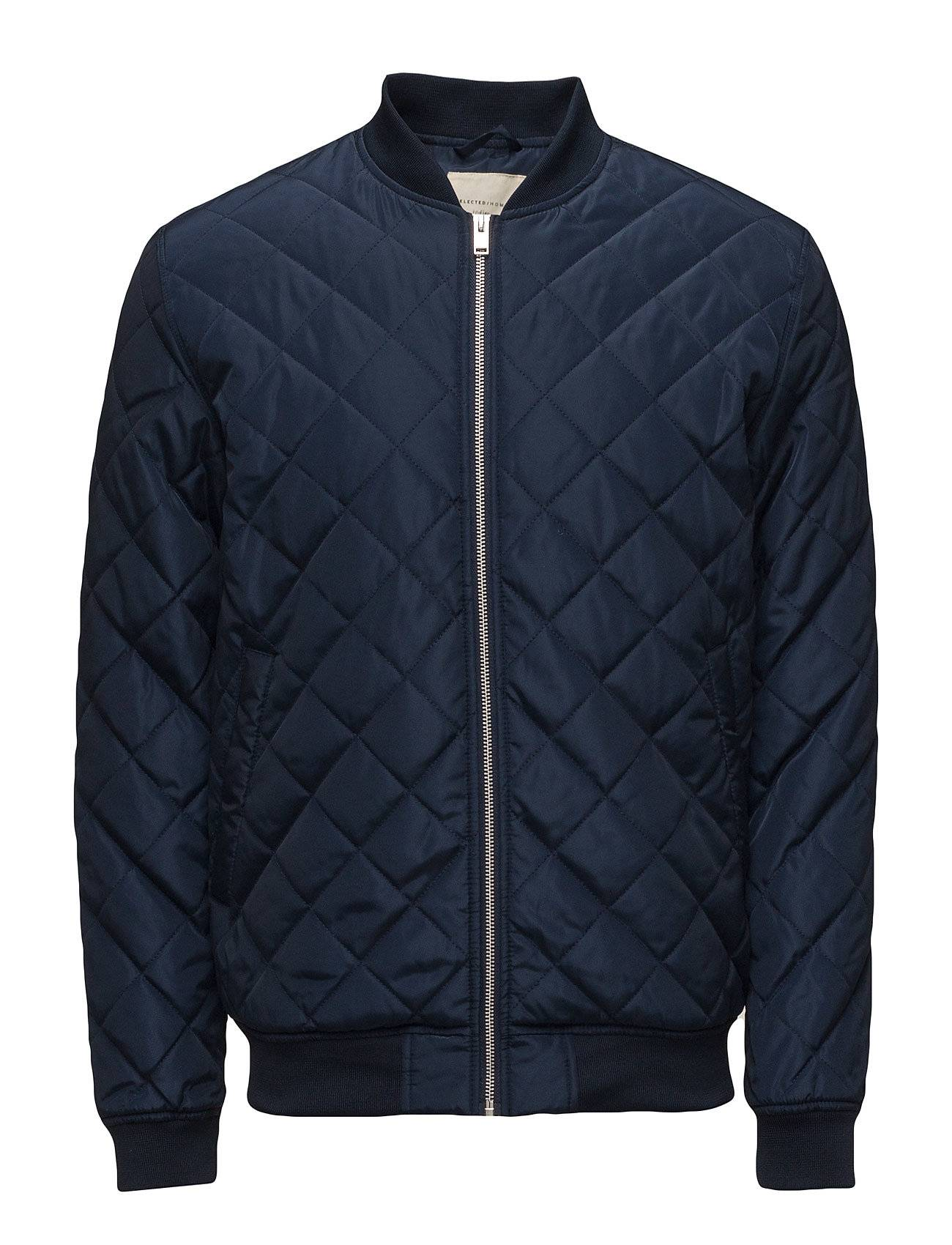 Selected Homme Shxpeter Quilted Bomber Jacket
