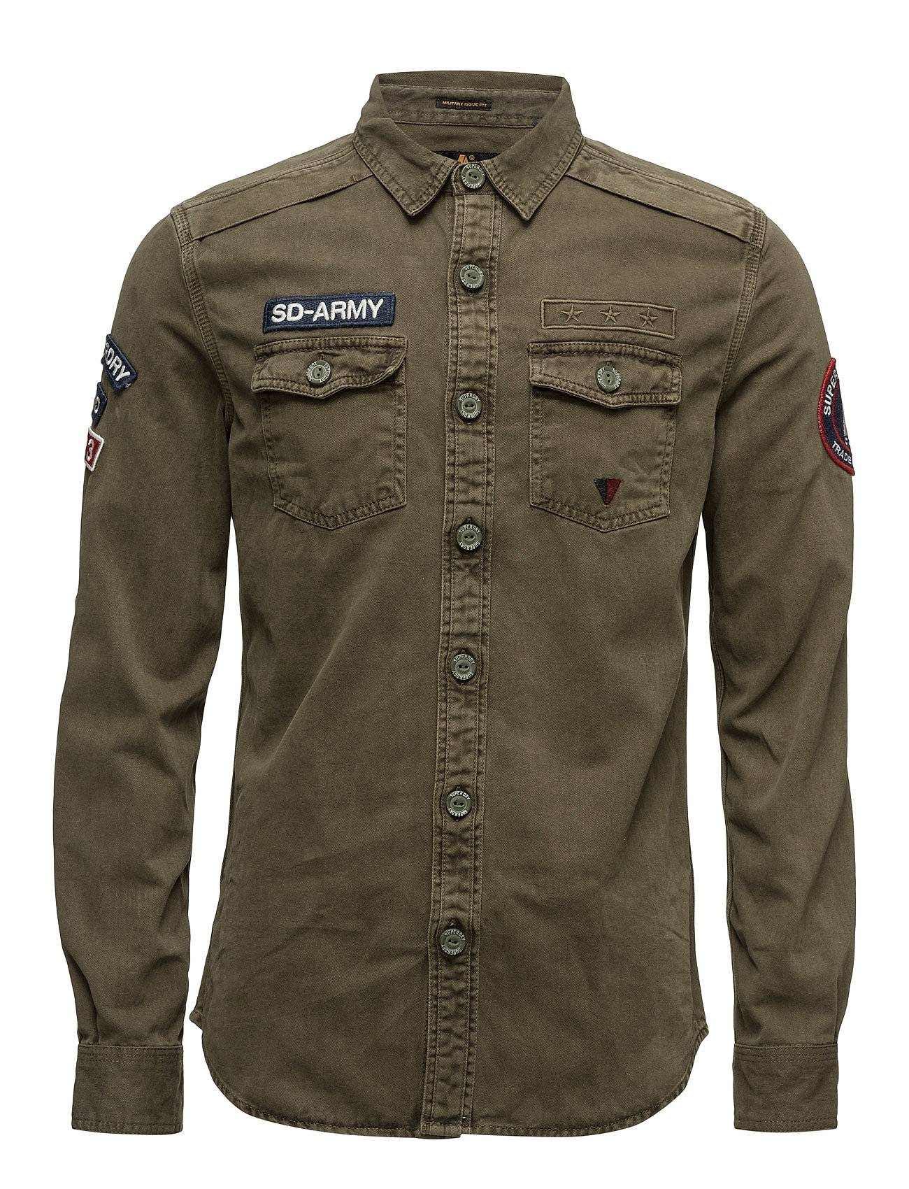 Superdry Sd Army Corps L/S Shirt