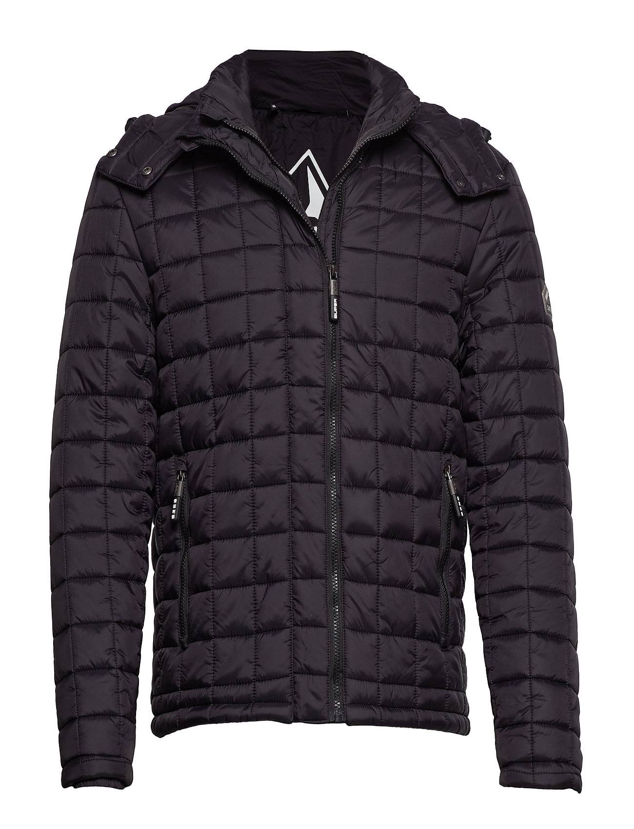 Superdry Box Quilt Fuji Hooded
