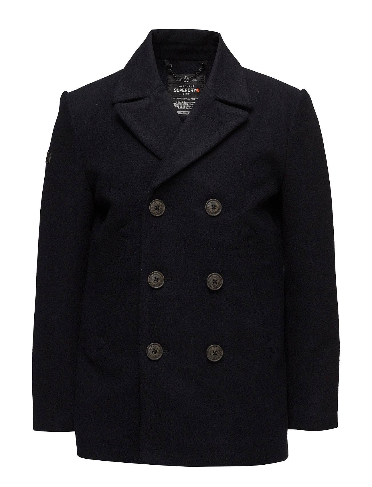 Superdry Rookie Merchant Line Peacoat