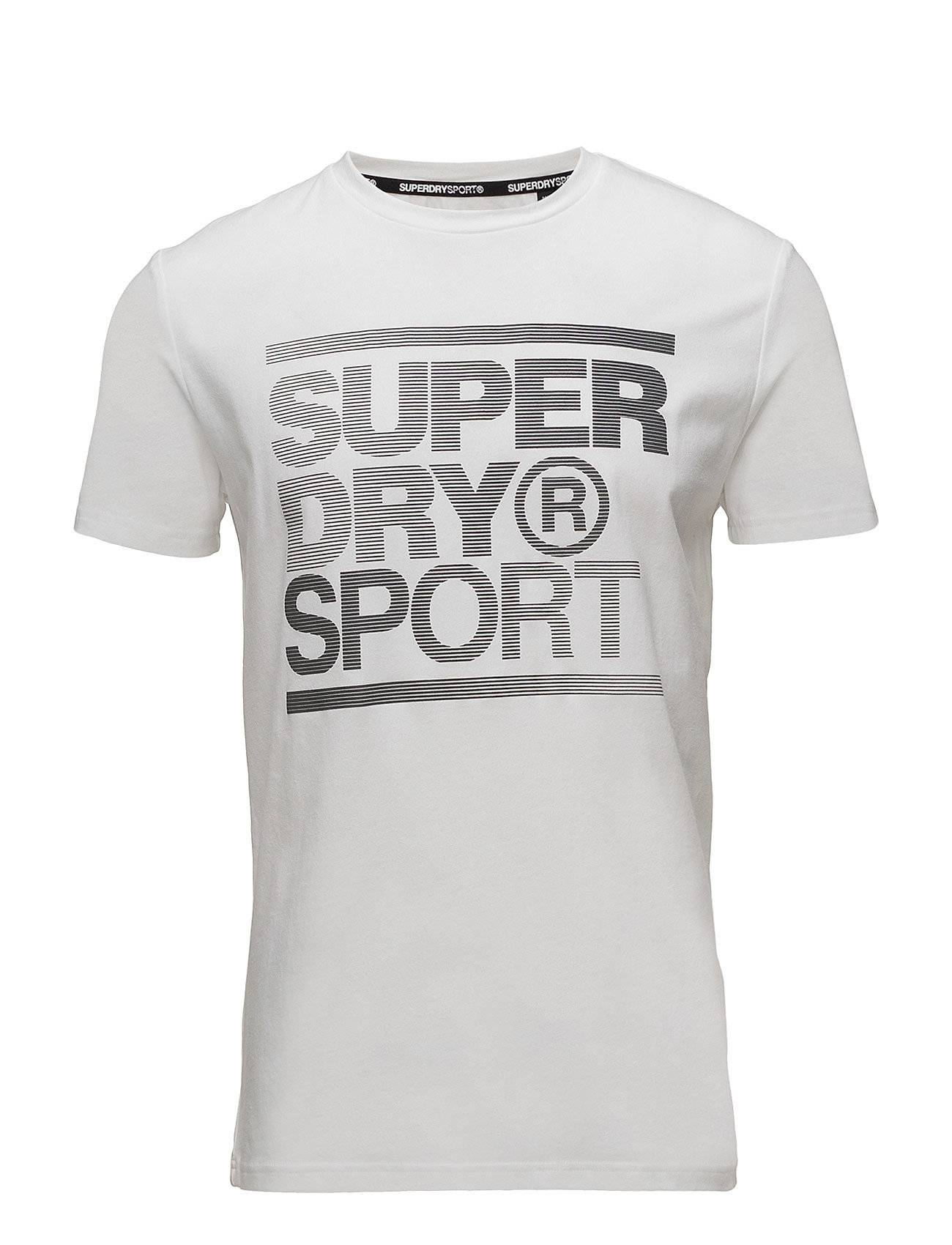 Superdry Sport Gym Training S/S Graphic Tee