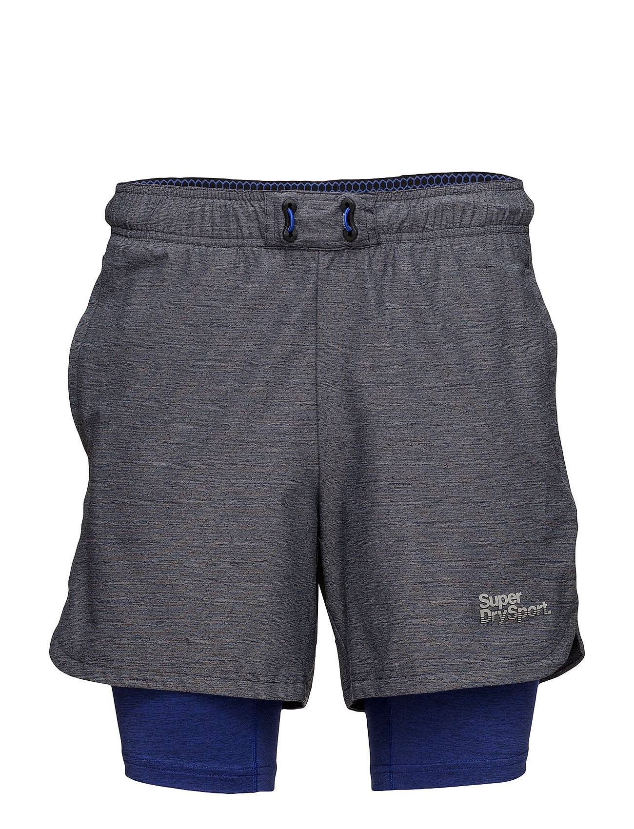 Superdry Sport Athletic Double Layer Short