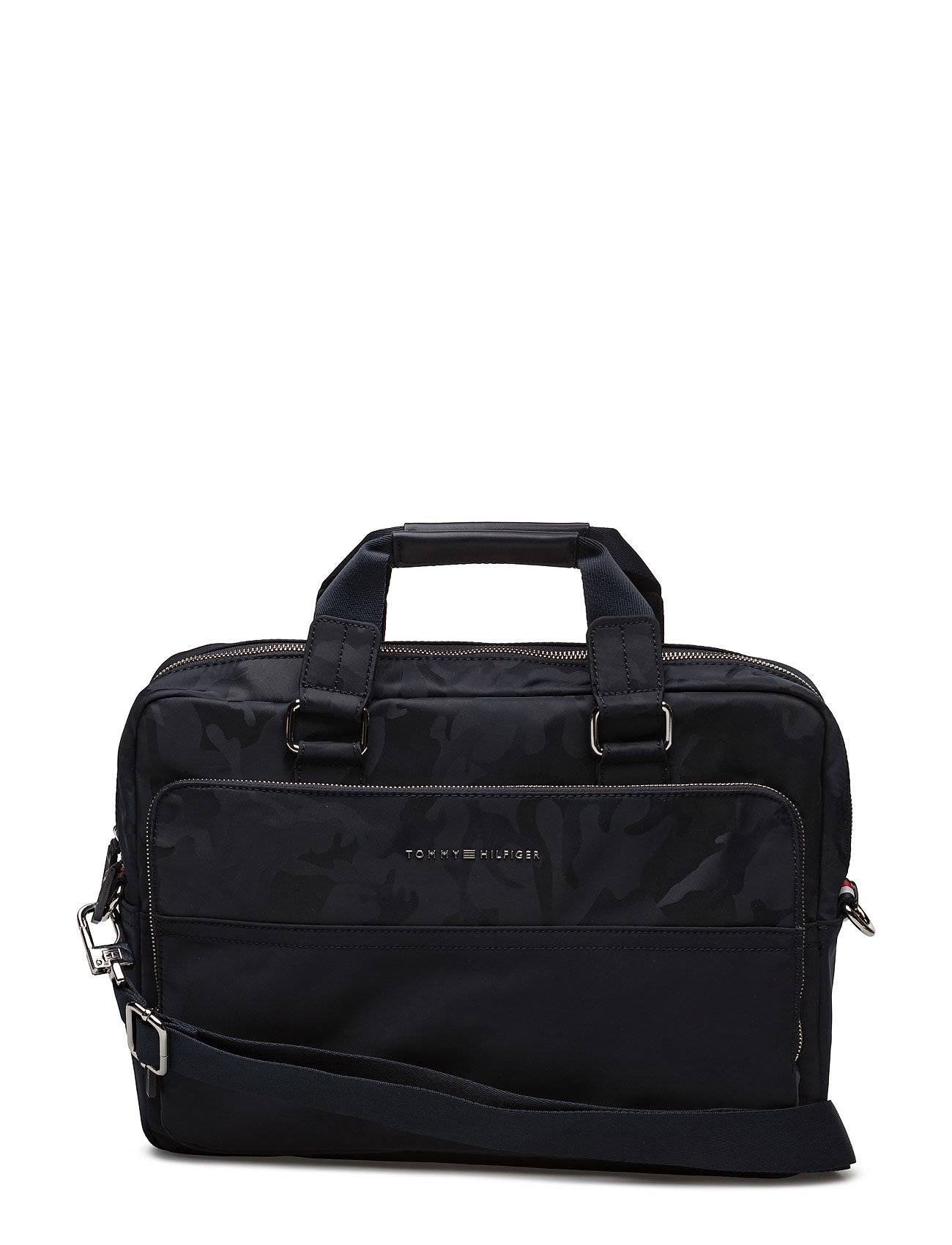 Tommy Hilfiger Tailored Nylon Computer Bag