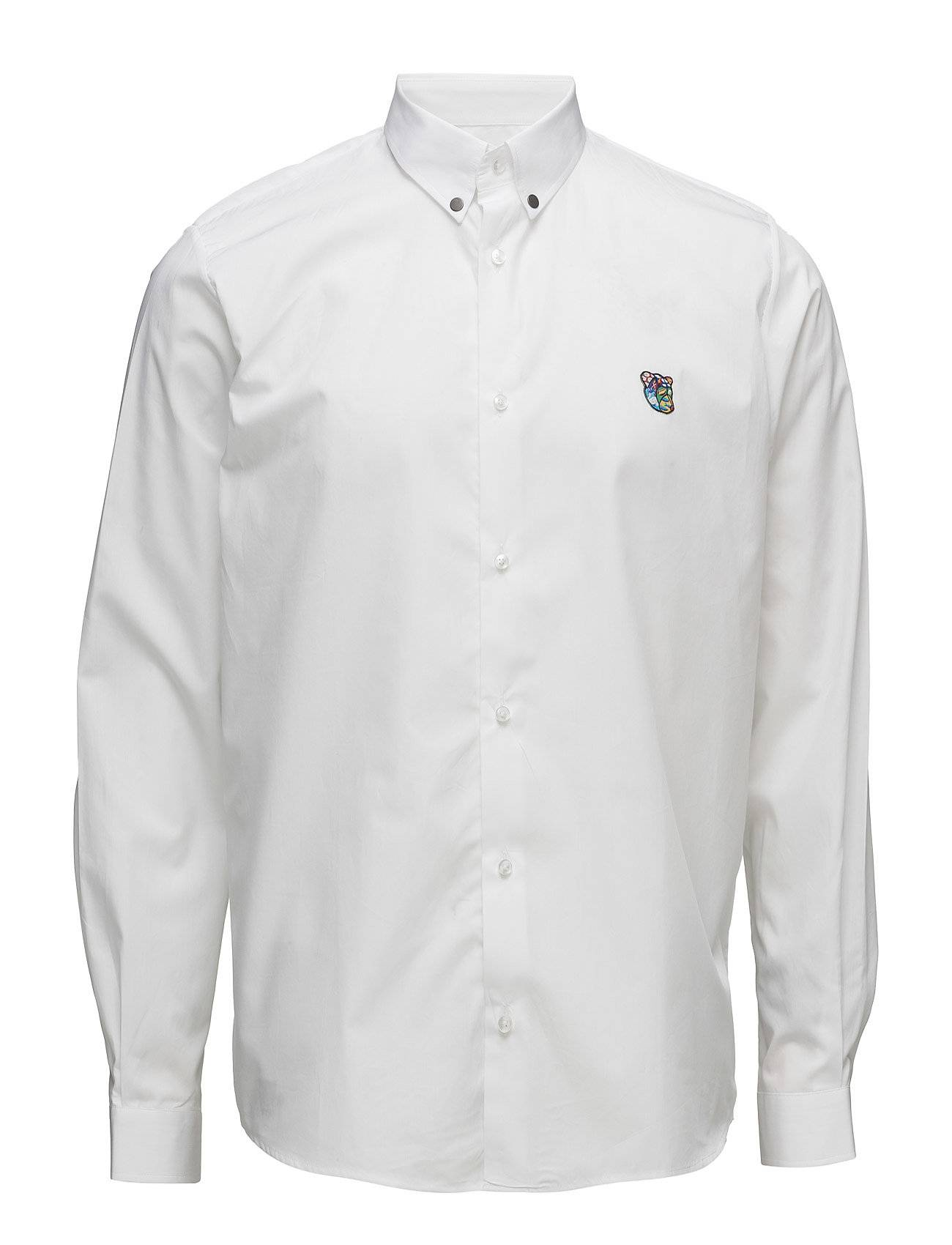 Tonsure Regular Shirt With Embroidered Logo
