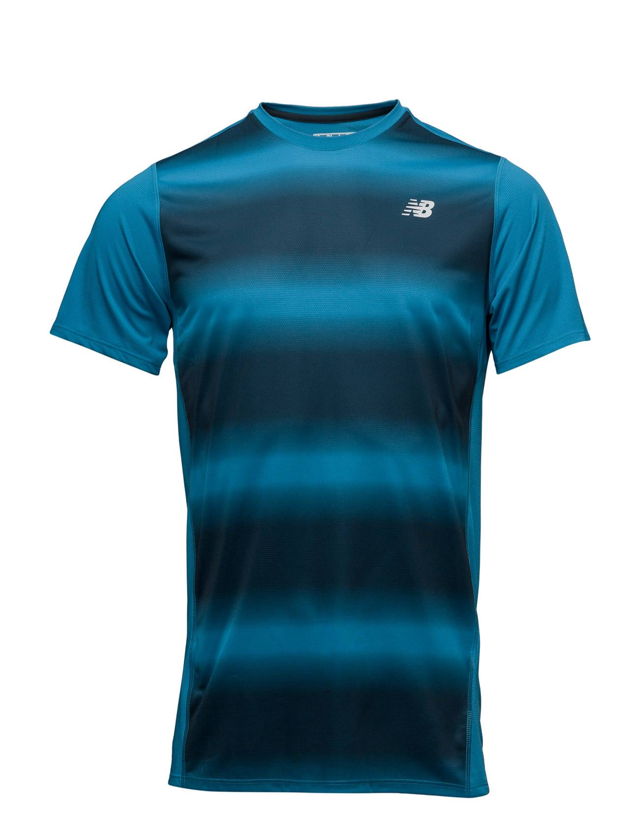 New Balance Accelerate Ss Graphic Top