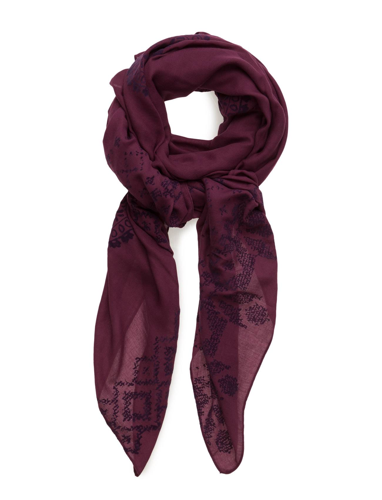 Desigual Accessories Foulard Rectangle Wool